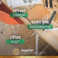#TürkçesiVar⠀ cetvel ❌- çizelge ✅⠀ entegre ❌- bütünleşmiş ✅⠀ cihaz ❌- aygıt ✅⠀ Study Motivation, More Than Words, Foreign Languages, Motivation To Study