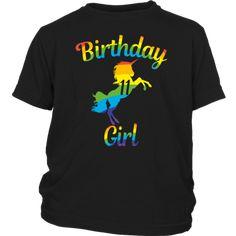 f9eeff57 Unicorn 11th Birthday Girl 'Rainbow' 11 Years Old T-shirts - Gifts Ideas. Unicorns  Field