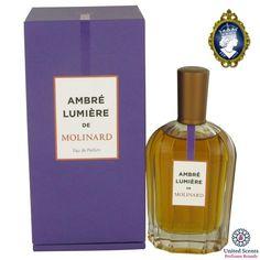Going fast! Get your hands on Ambre Lumiere de Molinard 90ml/3.oz Eau De Parfum Spray Women Perfume Fragrance while you can! 🙌 http://perfumebrands.net/products/ambre-lumiere-de-molinard-90ml-3-oz-eau-de-parfum-spray-women-perfume-fragrance?utm_campaign=crowdfire&utm_content=crowdfire&utm_medium=social&utm_source=pinterest