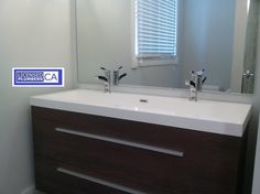 http://mississaugaplumbing.ca. Best certified plumber for new bathroom vanity sink rough-in plumbing. #MississaugaPlumbing http://licensedplumbers.ca/picture_library/best-certified-plumber-new-vanity-roughin-installation.jpg