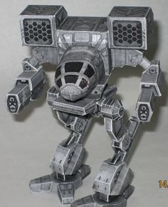 Mechwarrior Madcat... heck, I had a hard time driving this mech!