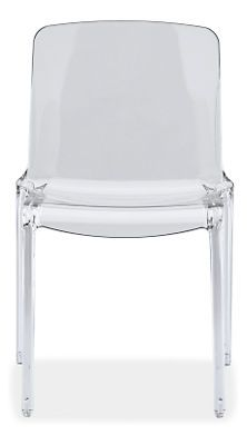 Tiffany Chairs - Chairs - Dining - Room & Board Dimensions: Seat Height: Features: stackable Designer: Marcello Ziliani Product Origin: made in Italy Item Number: 747033 Material: molded plastic Material Detail: polycarbonate Color: clear Funky Chairs, Side Chairs, Dining Room Chairs, Dining Furniture, Kitchen Chairs, Dining Area, Dining Rooms, Furniture Ideas, Dining Table