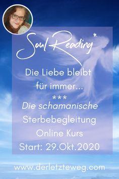 Du fühlst dich dazu gerufen, das WIE des letzten Weges einer Seele zu begleiten? Du möchtest wissen: Was habe ich noch zu klären? Wo möchte ich noch Frieden schließen? Wie bekomme ich meinen Seelenfrieden mit mir und der Welt? Mein neuer Online-Kurs hilft dir dabei! | Trauer | Frieden | Seelenfreiheit | Angehörige | Hinterbliebene | Übergang | Friede | Seelenbegleitung | Weiterbildung | Tod |Verabschieden | Seelenfrieden | Geistige Heimat | Abschied |