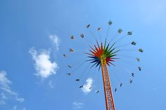 merry-go-round high in the sky