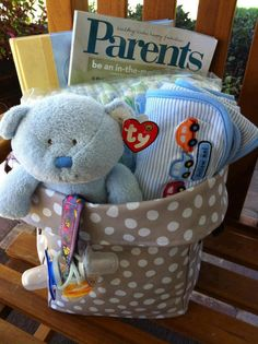 Brighten a new mom or dad's day with an amazing basket, utilizing our fabulous Mini Utility Bin. Baby Shower Gift Basket, Baby Shower Gifts, Baby Gifts, Thirty One Bags, Thirty One Gifts, Thirty One Business, Baby Bug, Thirty One Consultant, 31 Gifts