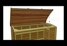 Canterbury Wood Storage Bin | Woodworkingguides.info