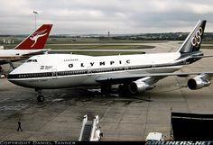"Olympic Airways Boeing SX-OAC ""Olympic Spirit"" at Melbourne-Tullamarine, April (Photo: David Tanner) Boeing 707, Boeing Aircraft, Olympic Airlines, Jumbo Jet, Commercial Aircraft, Civil Aviation, Aircraft Pictures, Jet Plane, Air Travel"