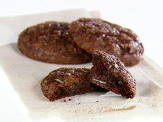 Double Chocolate and Mint Cookies Recipe : Giada De Laurentiis : Food Network - FoodNetwork.com
