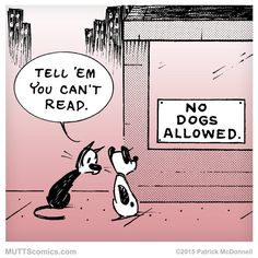 No #dogs? Is there such a thing? #MUTTScomics