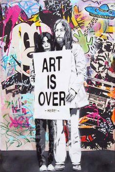 Mr. Brainwash Art is over (Here) Mr Brainwash, Urban Graffiti, Modern Art, Opera, How To Look Better, Art Gallery, Artist, Inspiration, Fictional Characters