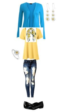 """Untitled #1292"" by tigergirl121 on Polyvore featuring Lands' End, Kate Spade, Blowfish and Daisy Jewellery"