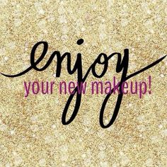 Thank you Kristy, Kati, and Karina for your orders. Enjoy your new makeup!!!!