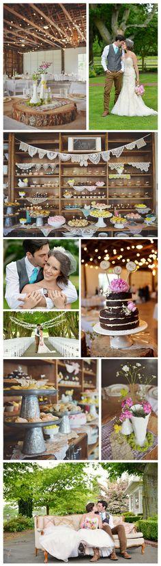 Maplehurst Farm Wedding Venue, Country Wedding Decor, Maplehurst Farm Mount Vernon, WA, Amy Lewis Photography www.amylewisphotography.com