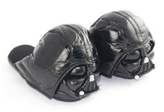 Fabulosas pantuflas Darth Vader
