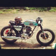 Honda CB 100 cafe racer by ka_ok_ka