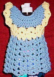 1000+ images about Crochet Kitchen -- Dish Bottle Aprons ...