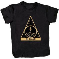 Harry Potter Always T-shirt / la barbuda  #labarbuda #labarbudashop #always #harrypotter #potter #potterhead #avadakedavra #dumbledore #hermione #jkrowling