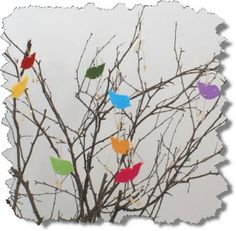 Easter tree decoration