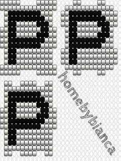 Skabeloner til hama bogstavklodser ~ Home by Bianca Perler Beads, Alphabet, Bracelets, Cubes, Hama Beads, Jewelery, Bangle Bracelets, Alpha Bet, Bracelet