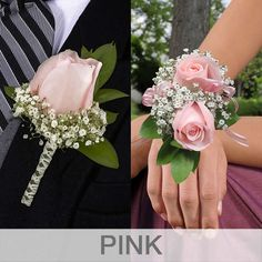 Boutonnieres & Wrist Corsages, - - Boutonnieres & Wrist Corsages, 8 Boutonnieres and 8 Wrist CorsagesPlease Choose Color From Drop BoxAll Orders Require A Preferred Arrival Date At CheckoutFlowers Ship Fresh Directly From Farm To Member. Prom Corsage And Boutonniere, Bridesmaid Corsage, Flower Corsage, Prom Flowers, Bridal Flowers, Wrist Flowers For Prom, Bracelet Corsage, Wristlet Corsage, Homecoming Corsage