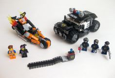 The LEGO movie set #70808: Super Cycle Chase. Definitely a set to get.