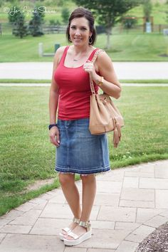Fashion for Women Over 40: 4th of July Outfit
