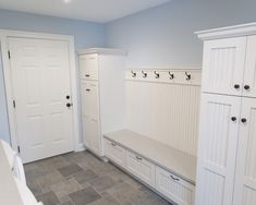 Laundry Room Design, Pictures, Remodel, Decor and Ideas - mud room bench in laundry room