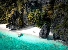 El nido travel guide - 9 things to do in el nido palawan, philippines El Nido Palawan, Coron Palawan, Beautiful Waterfalls, Most Beautiful Beaches, Beautiful Places, Beautiful Pictures, Gopro, Siargao Island, Gili Air