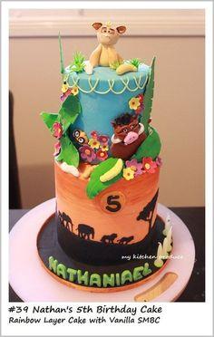 Lion King Theme Cake  Cake by LindaKurniawanMKP
