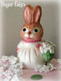 Beatrix Potter rabbit by Sugar Cakes