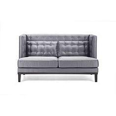 @Overstock - A Euro-modern design and durable, corner-blocked wood construction ensures this sofa will retain it's beauty for years to come. The soft satin fabric adds softness and elegance to this handsome sofa.http://www.overstock.com/Home-Garden/Modern-Silver-Satin-Love-Seat/5275151/product.html?CID=214117 $987.05