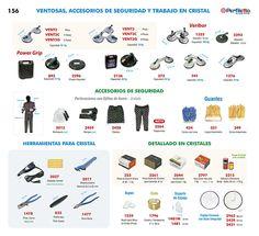 Ventosas - Accesorios de Seguridad y Trabajo en Cristal Perfiletto ®  Catálogo Virtual Perfiletto