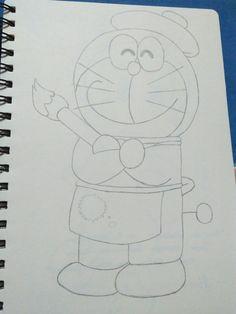 Doraemon Doraemon, Draw, To Draw, Sketches, Painting, Tekenen, Drawing