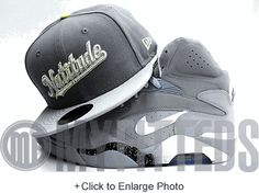 Washington Nationals Wolf Storm Grey Placid Grey Metallic Silver Sail New Era Fitted Hat UP NOW ON MYFITTEDS.COM