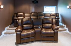 A theater room in Northern VA