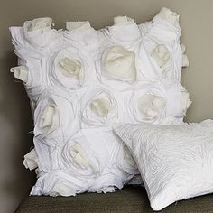 Deconstructed Rose Pillow Cover  #WilliamsSonoma