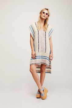 Free People So Easy Striped Pullover