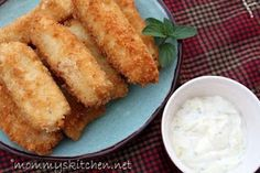 Mommy's Kitchen - Old Fashioned & Southern Style Cooking: Crispy Homemade Fish Sticks