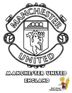 World #FIFA Team #Coloring_Page Manchester United of England  You Can Print Out This #Soccer Coloring Page Now!... http://www.yescoloring.com/images/09-Manchester-Football-Soccer-Futbol-at-coloring-pages-book-for-kids-boys.gif