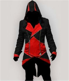 Now available on our store: Men's Jacket Hood.... Check it out http://gymfanatics.co.za/products/mens-jacket-hoodie-assassins-creed-white-and-red?utm_campaign=social_autopilot&utm_source=pin&utm_medium=pin.