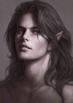 Young Vanimórë in Angband Commission by Omupied http://omupied.deviantart.com/