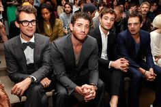 Front Row at the Simon Spurr Show, Brian Greenberg from How to make it...