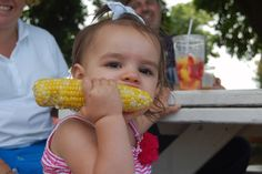 Harbes Family Farm's 25th annual Sweet Corn Festival... It was good old-fashioned family fun at Harbes Family Farm on Sunday as the Mattituck farm celebrated 25 years of growing its staple crop sweet corn.