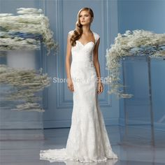 Lace Fold Pearls Beads Vestidos Top Quality Sheath Wedding Dress sheer Beads 2015 New Arrival Bridal Gowns Applique Longo