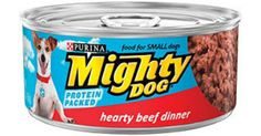 Kroger: Mighty Dog Wet Dog Food just $.22 w Printable Coupon!