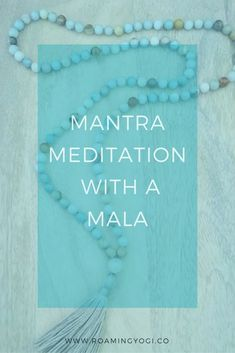 Mantras for Meditation with a Mala. Utilizing a mantra and a mala is a great way to get started with a meditation practice. by roamingyoginatalie Read Meditation Mantra, Meditation Benefits, Healing Meditation, Meditation Practices, Guided Meditation, Meditation Space, Meditation Symbols, Meditation For Beginners, Meditation Techniques