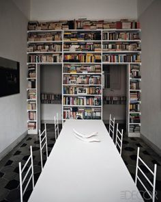 Would like book case like this but in the kitchen.  Filled with cookbooks.