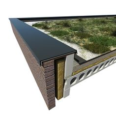 Flat Roof Design, House Extension Design, Building Design, Building A House, Roof Cladding, Detail Architecture, American Houses, Roof Detail, A Frame House