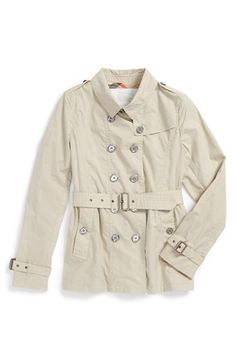 Burberry Trench Coat (Little Girls & Big Girls) available at #Nordstrom