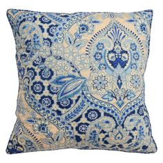 Waverly Moonlit Shadows 20-inch Square Decorative Accessory Pillow - 15666020X020LAP